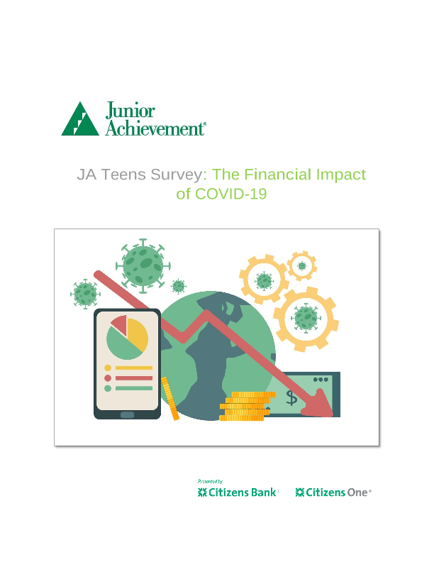 JA Teens Survey: The Financial Impact of COVID-19